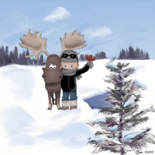 Seb au Canada