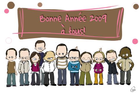 Bonne annee 2009 a l'equipe UI