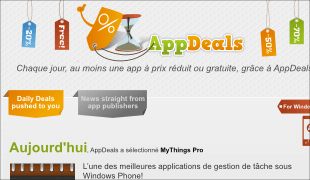 AppDeals - website